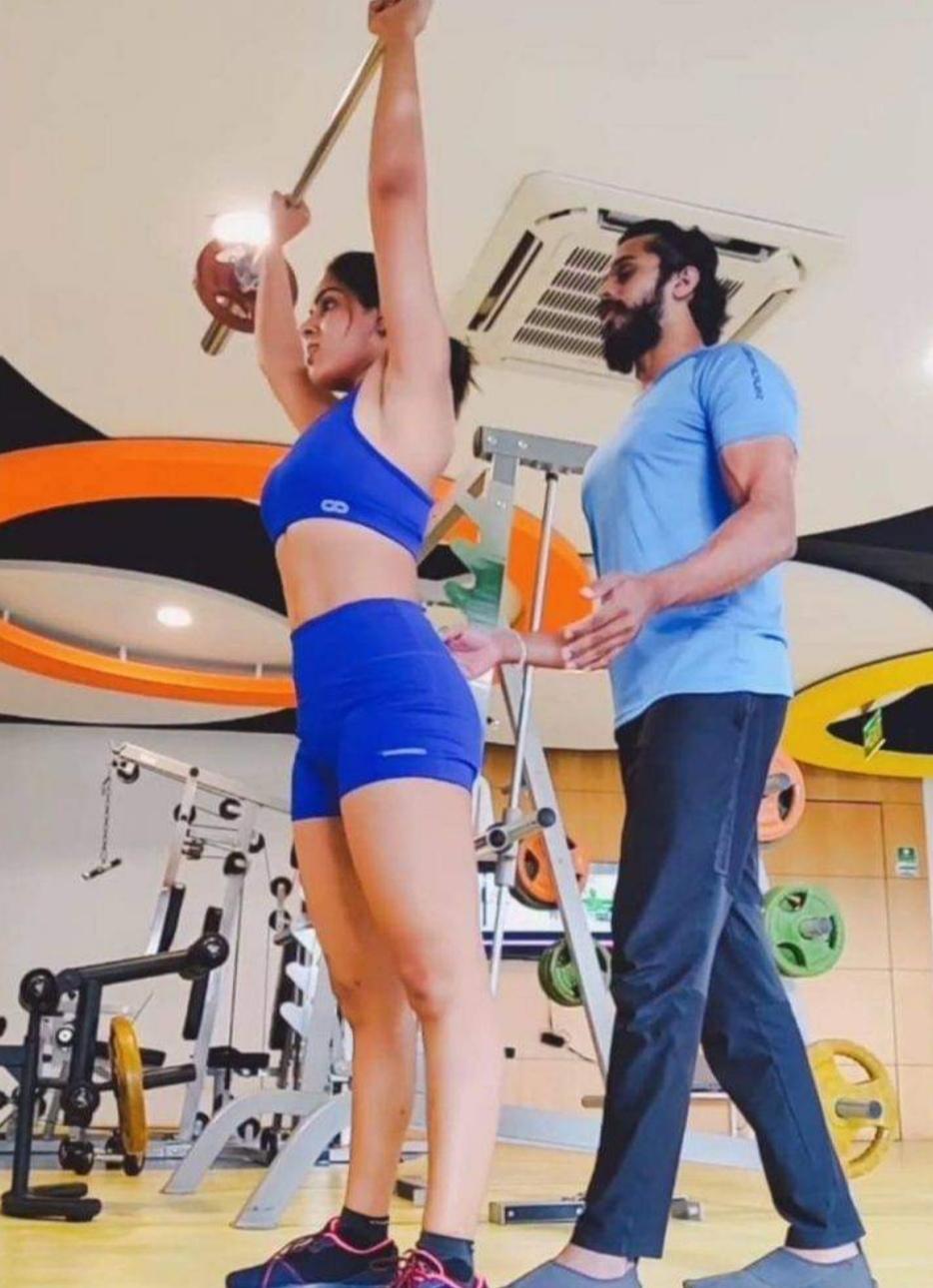 Samyuktha Menon workout